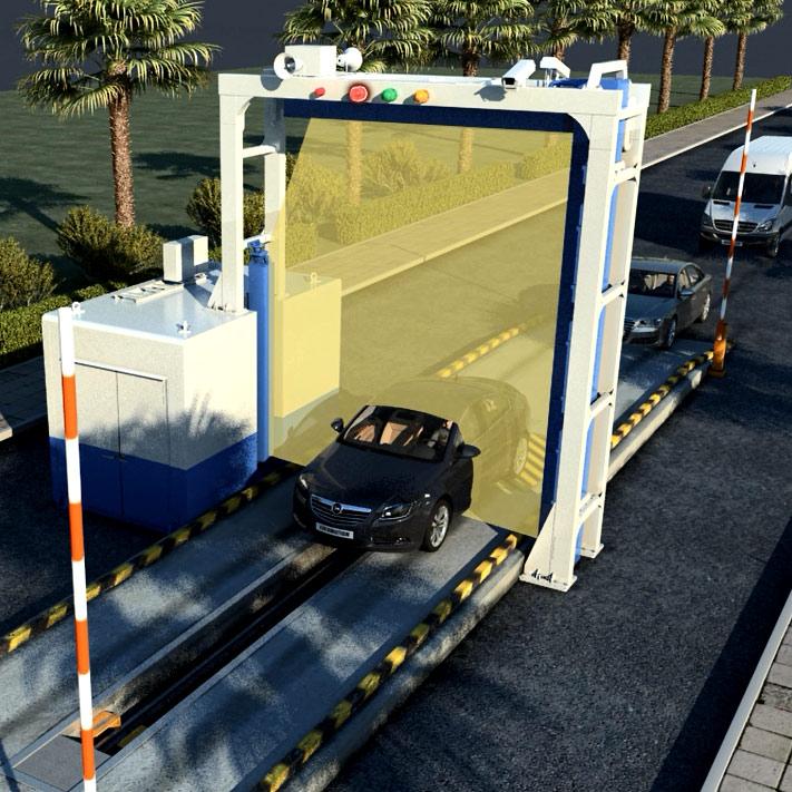 Escaner para contendeores y vehiculos Nuctech Argentina