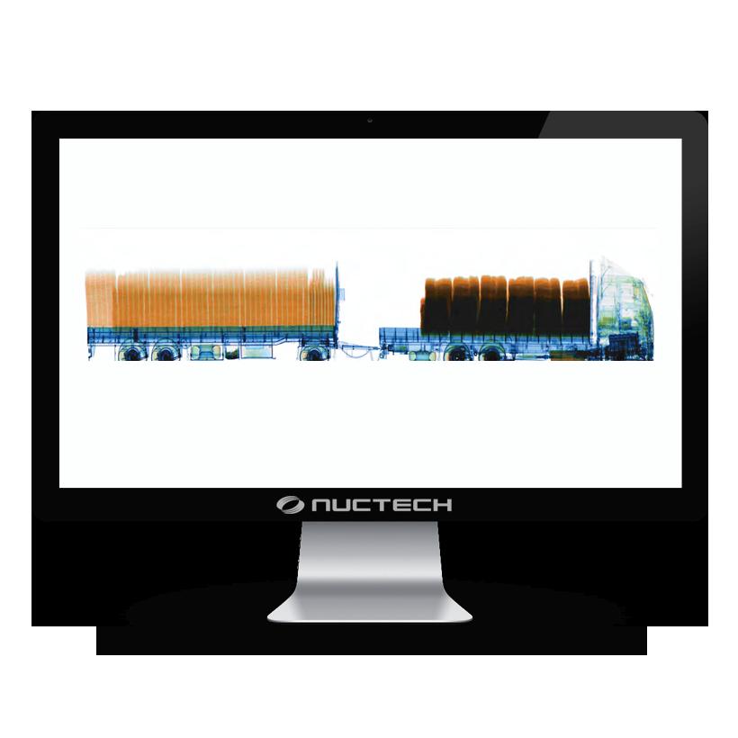 Inspeccion de Contenedores y Vehiculos Nuctech Serie MB