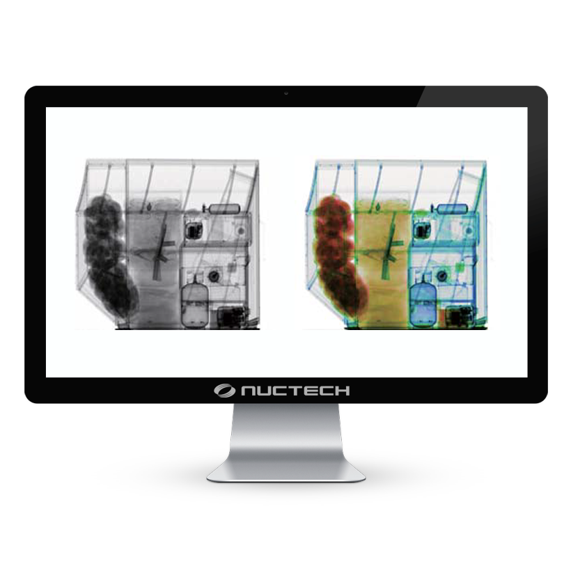 Escaner Sistema de Inspeccion de Carga Aerea Nuctech