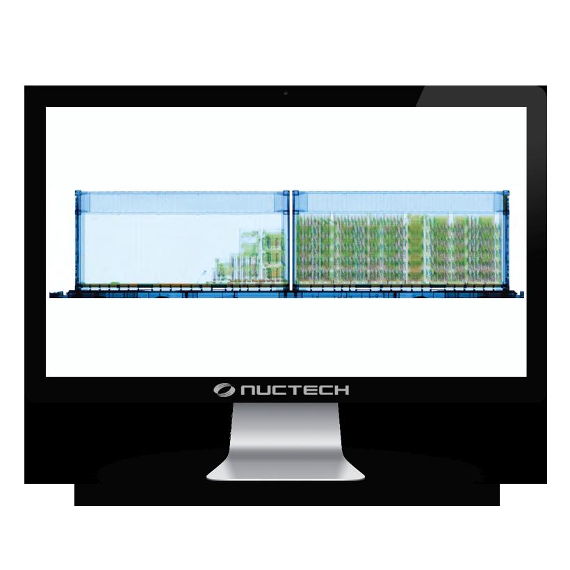 Escáner de Ryos X - Sistema de Inspección de Carga/Vehículo de Ferrocarril Serie RF