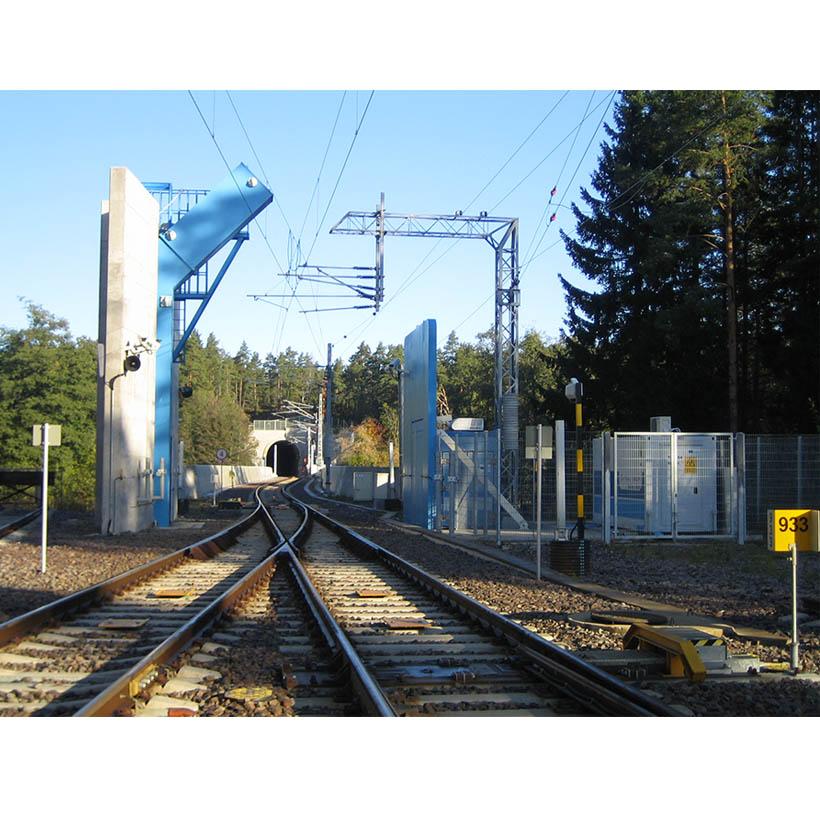 Escáner para ferrocarriles Nuctech