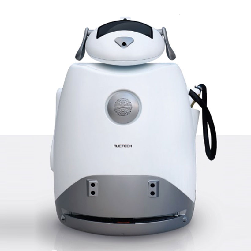 Robot Perro de Inspeccion Nuctech RID1000