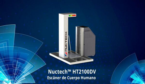 Scanner de Cuerpo Humano Nuctech HT2100