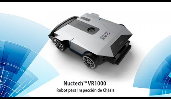 Robot Para Inspección De Chasis De Vehículos Nuctech VR1000